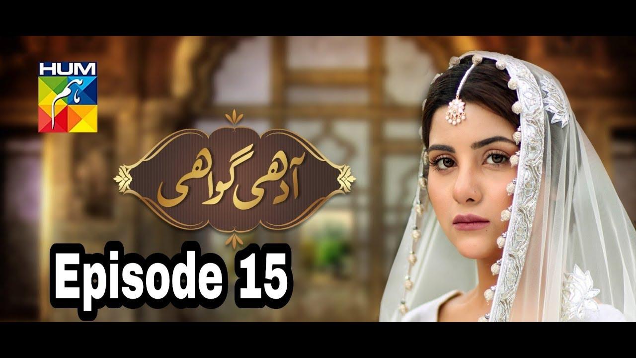Adhi Gawahi Episode 15 Hum TV