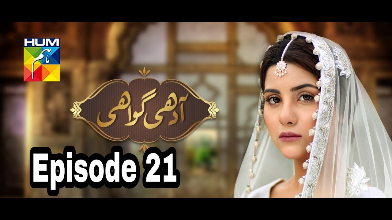 Adhi Gawahi Episode 21 Hum TV