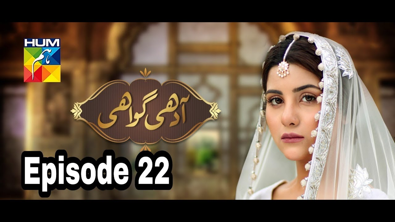 Adhi Gawahi Episode 22 Hum TV
