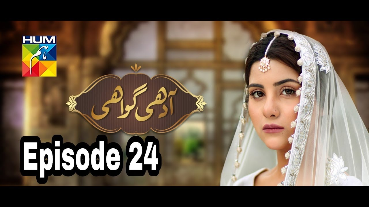 Adhi Gawahi Episode 24 Hum TV