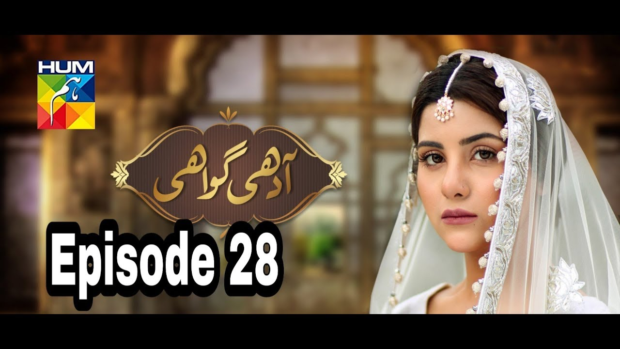 Adhi Gawahi Episode 28 Hum TV