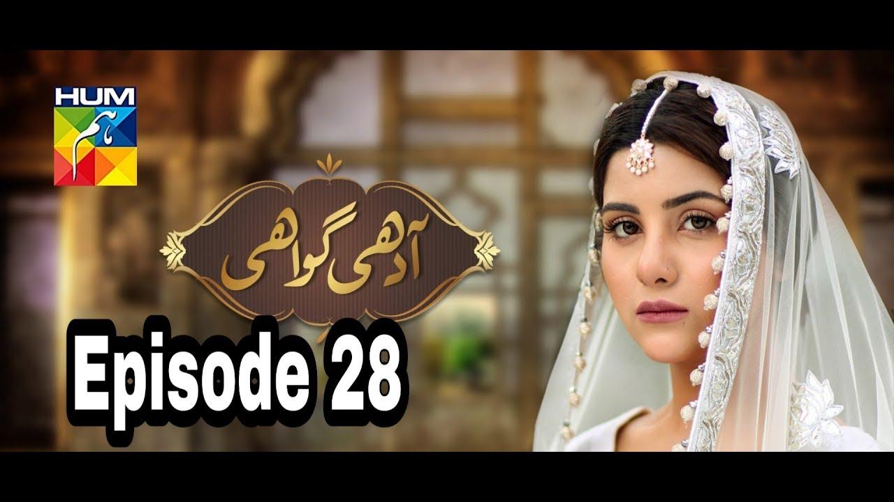 Adhi Gawahi Episode 28 Hum TV