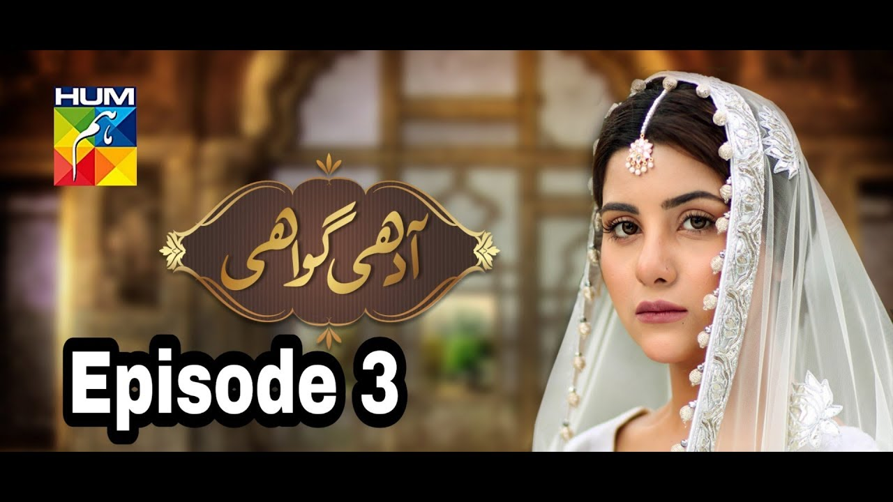 Adhi Gawahi Episode 3 Hum TV
