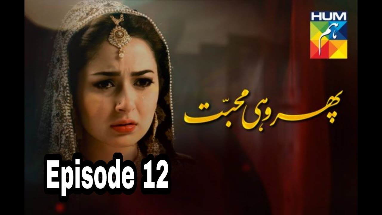 Phir Wohi Mohabbat Episode 12 Hum TV