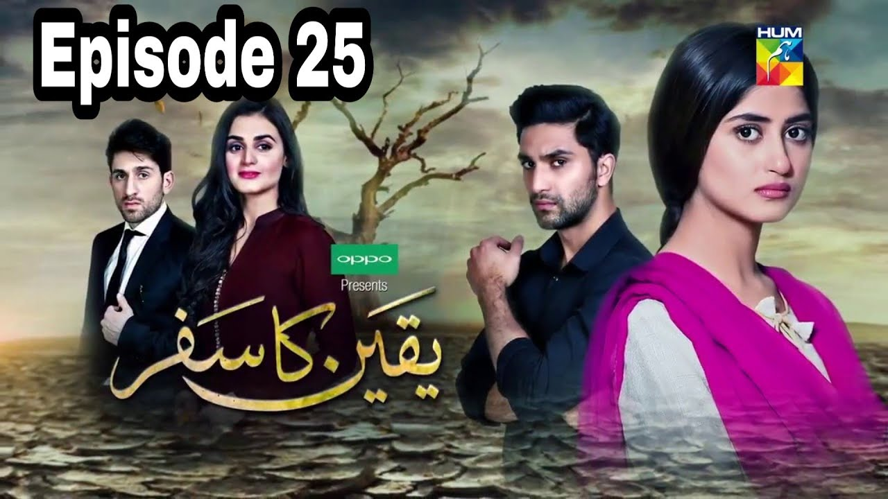 Yakeen Ka Safar Episode 25 Hum TV