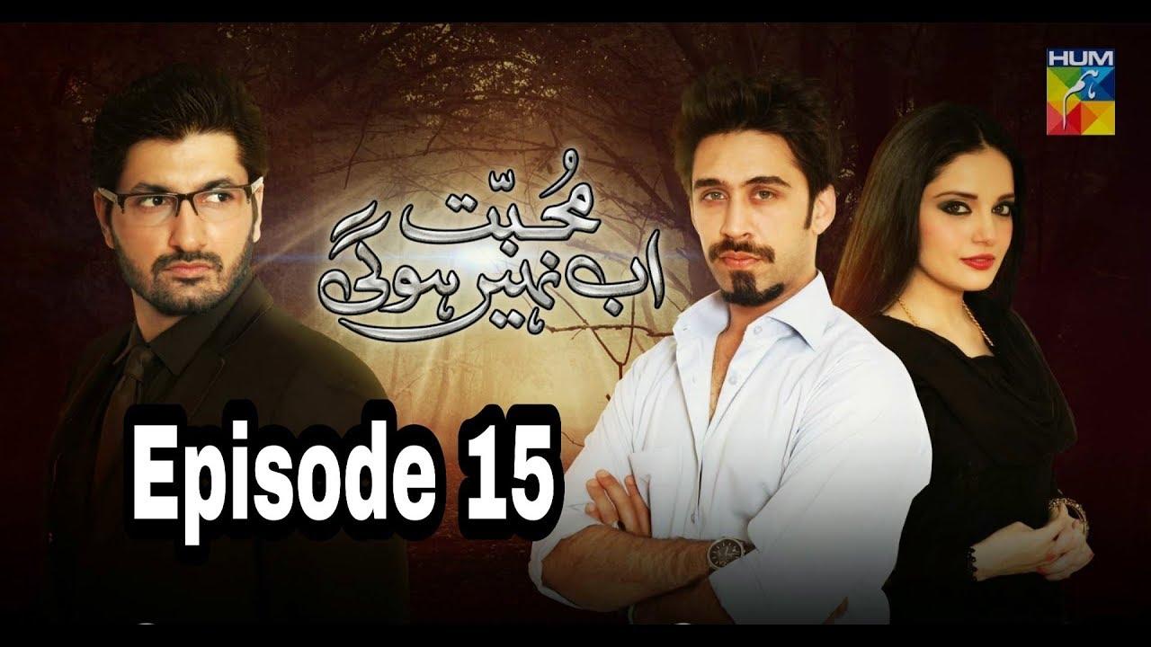 Mohabbat Ab Nahi Hogi Episode 15 Hum TV