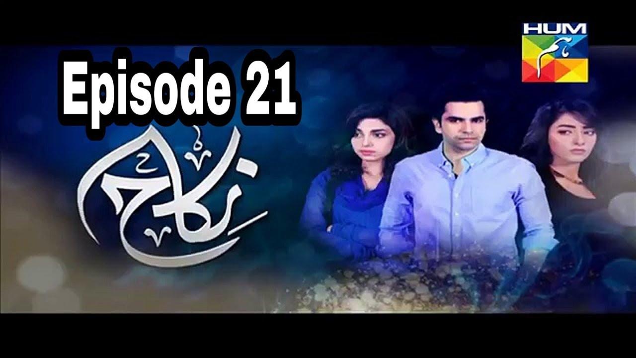 Nikah Episode 21 Hum TV