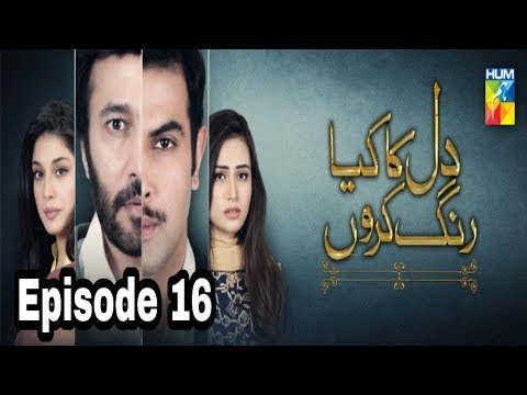 Dil Ka Kya Rung Karun Episode 16 Hum TV