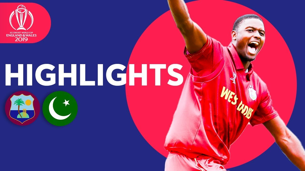 Pakistan Bounced Out For 105 | Windies vs Pakistan | ICC Cricket World Cup 2019 - Match Highlights