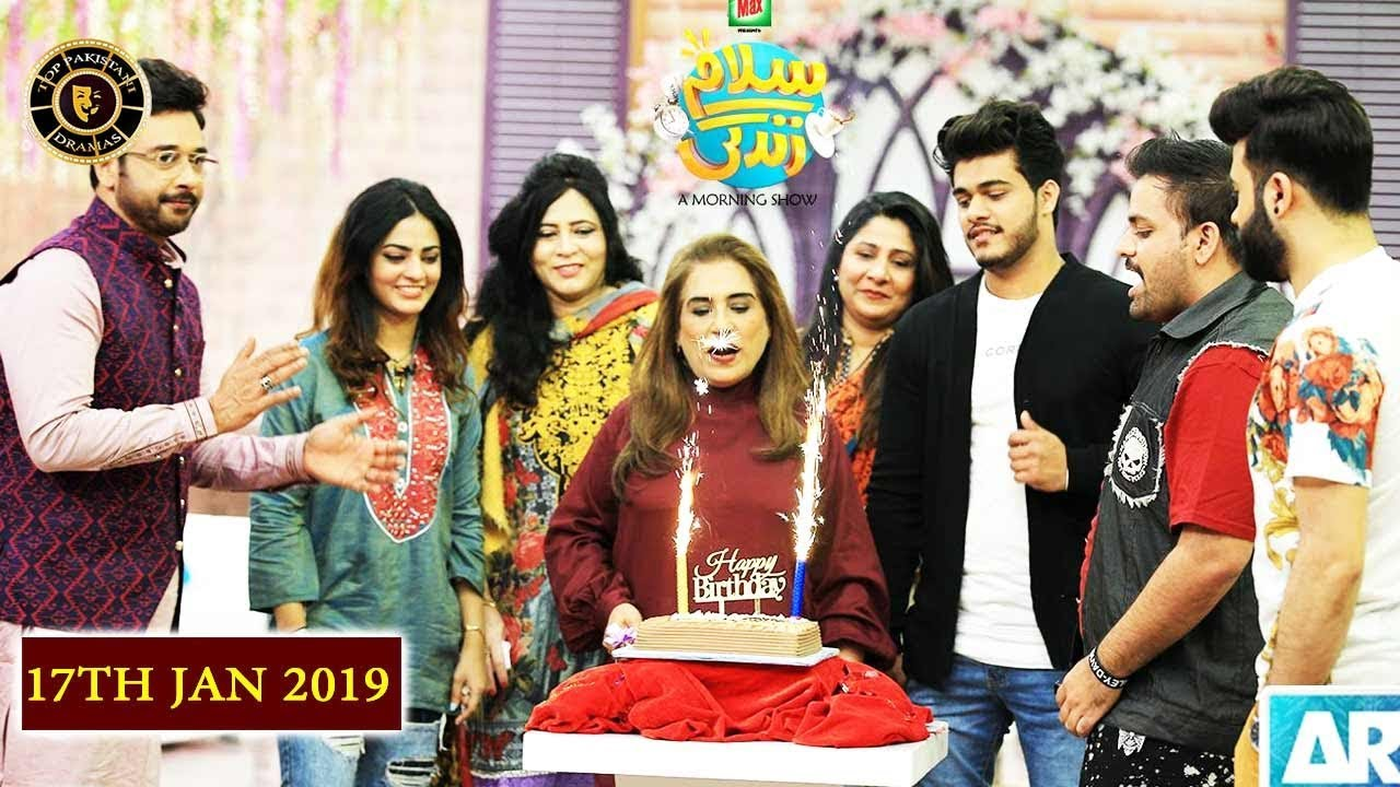 Salam Zindagi With Faysal Qureshi - Parveen Akber - Top Pakistani Show