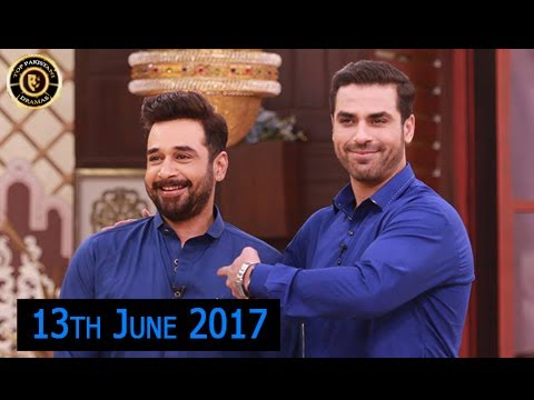 Salam Zindagi - 13th June 2017 - Guest:  Yasir Mazhar  & Uroosa - Top Pakistani Show