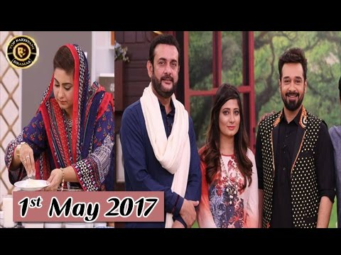 Salam Zindagi - 1st May 2017 - Top Pakistani Show