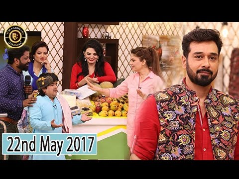 Salam Zindagi - 22nd May 2017 - Guest:  Isha Noor & Mizna Waqas - Top Pakistani Show