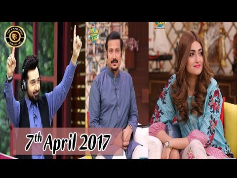 Salam Zindagi - 7th April 2017 - Top Pakistani Show