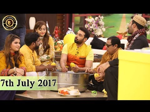 Salam Zindagi - 7th July 2017 - Top Pakistani Show