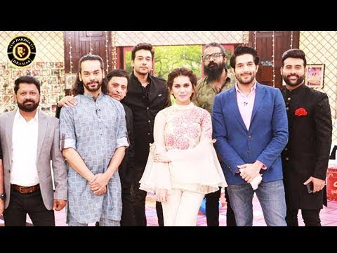 Salam Zindagi - Cast of Rangreza Special  - Top Pakistani Show