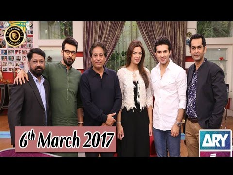 Salam Zindagi | Guest: Sehrish Khan & Shehroz Sabzwari | 6th March 2017 | ARY Zindagi