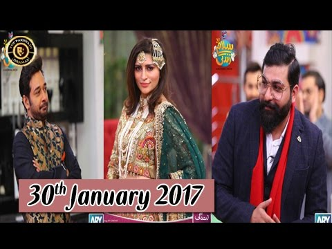 Salam Zindagi | Latest Show With Ali Xeeshan & Jiya | 30th January 2017 | ARY Zindagi
