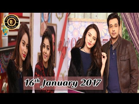 Salam Zindagi | Latest Show With Isha Noor & Anam Aqeel | 16th January 2017 | ARY Zindagi