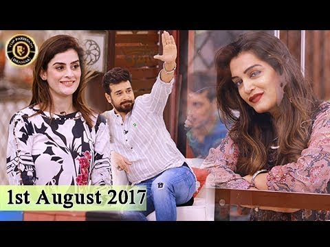 Salam Zindagi With Faysal Qureshi - 1st August 2017 - Top Pakistani Show