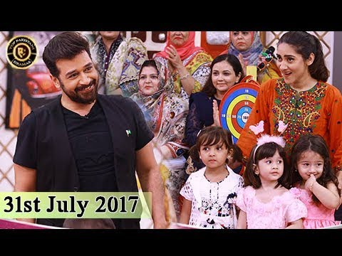 Salam Zindagi With Faysal Qureshi | 31st July 2017 | Top Pakistani Show