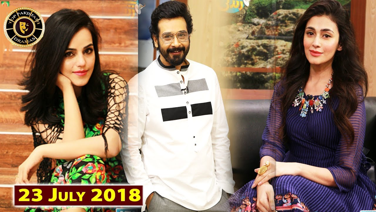 Salam Zindagi With Faysal Qureshi - ErumAzam & Sharmin Ali - 23rd July 2018