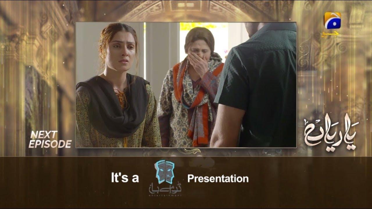 Yaariyan | Last Episode 27 Teaser | 27th September 2019 | HAR PAL GEO DRAMAS
