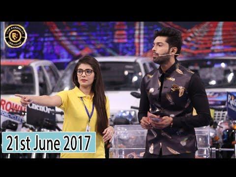 Jeeto Pakistan - 21st June 2017 -  Fahad Mustafa - Top Pakistani Show