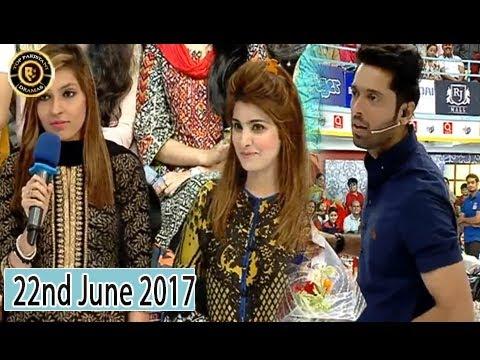 Jeeto Pakistan - 22nd June 2017 -  Fahad Mustafa - Top Pakistani Show