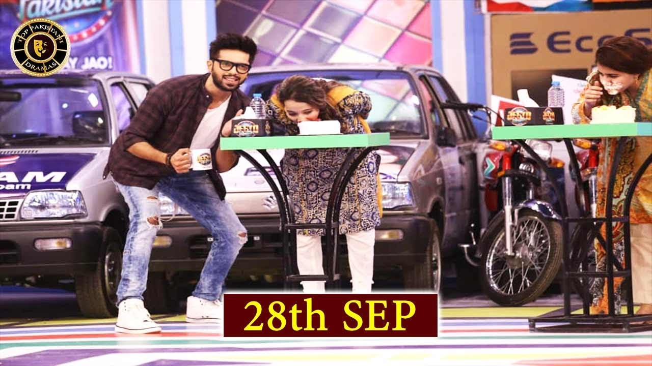 Jeeto Pakistan – Lahore Special – 28th September 2018